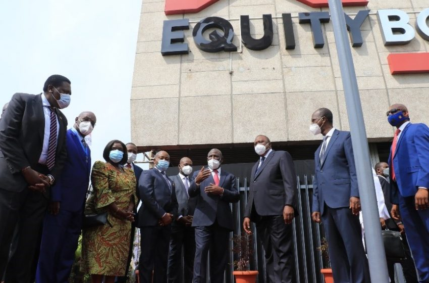 Uhuru Unveils Equity BCDC in first State visit to DRC